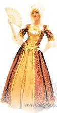 Историческое платье на бал
