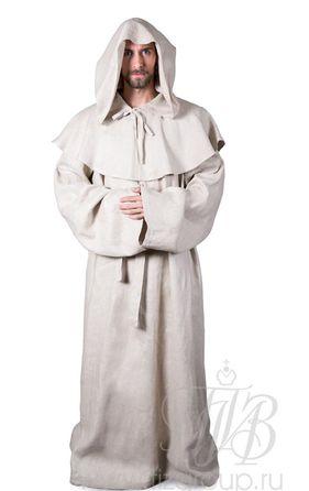Костюм монаха (светлый лен)