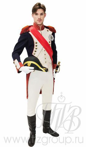 Костюм мундир Наполеона