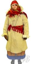 Русский народный костюм крестьянка