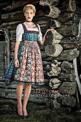 Костюм баварский женский купить доставка