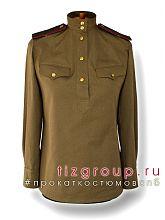 Женская военная гимнастерка ВОВ 1941 - 1943 г