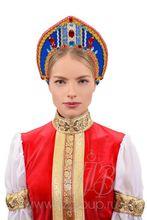 Кокошник русский народный