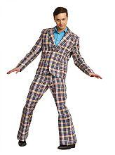 костюм стиляги мужской в клетку