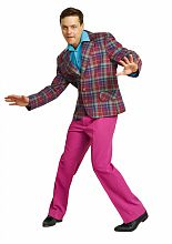 мужской костюм стиляги, пиджак в клетку