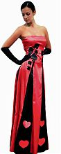 Платье пиковая дама