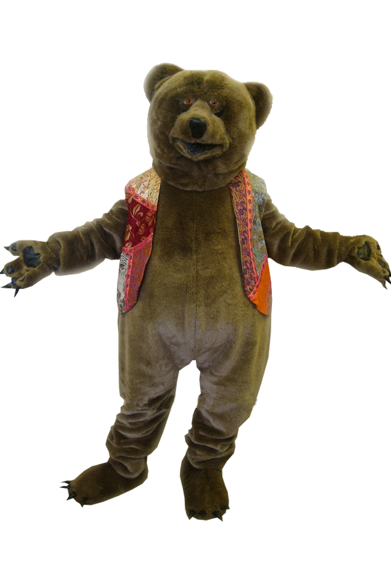 Как сделать костюм медведь 622
