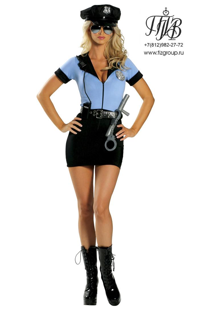 Костюм полицейской.