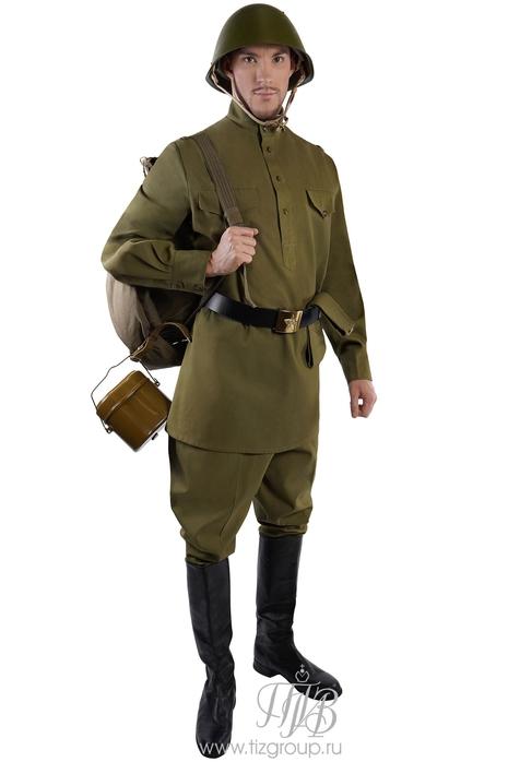 Форма солдата ВОВ - купить за 15850 руб: недорогие мужские костюмы в СПб