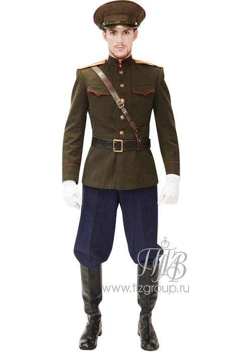 Форма офицера Белой Армии, белогвардейца - купить за 24000 руб: недорогие мужские костюмы в СПб