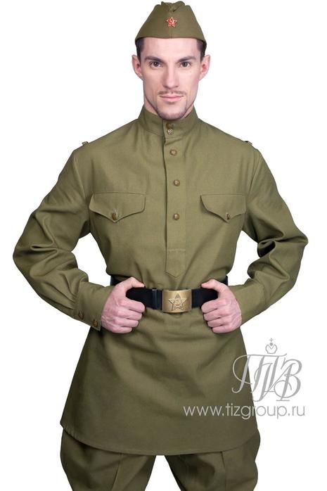 Военная гимнастерка - купить за 4500 руб: недорогие мужские костюмы в СПб