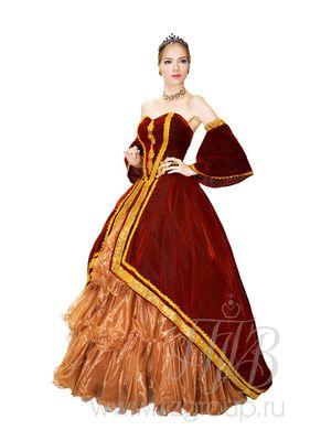 Историческое платье придворной дамы