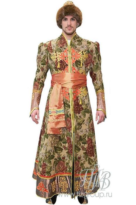 Русский костюм боярина - купить за 33000 руб: недорогие мужские костюмы в СПб