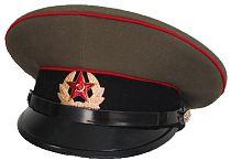 Фуражка СССР. Военная фуражка