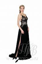 Платье вечернее с разрезом