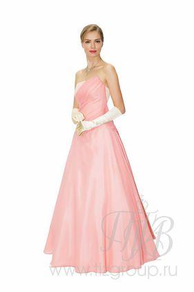 Бальное платье, розовое