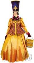 Русский народный костюм - зимний купеческий