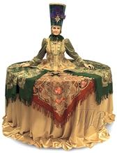 """Русский народный костюм - стол """"На посошок"""""""