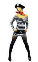 Платье-тельняшка, костюм пиратки