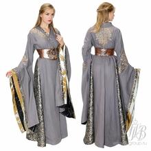 Платье средневековой дамы костюм Серсеи Ланнистер (киногерои Игра Престолов)