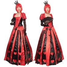 Костюм красная королева из фильма Алиса в стране чудес