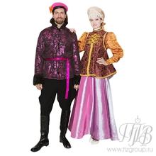 Парный русский народный костюм