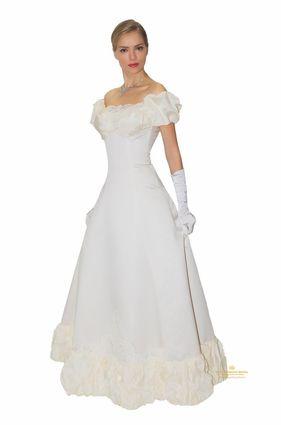 Бальное платье, белое