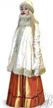Русский народный зимний женский костюм на масленицу