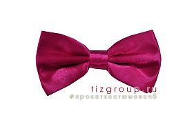 Розовый галстук бабочка
