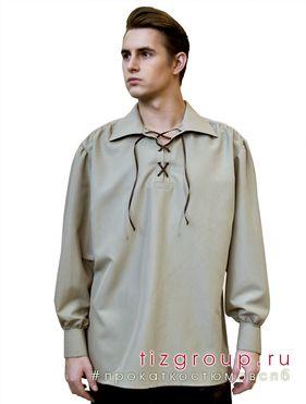 Рубашка историческая средневековая рубашка принца поэта романтическая рубашка