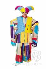 Зимний костюм Петрушки Скомороха