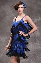 Платье с бахромой, стиль 30-х годов Чикаго