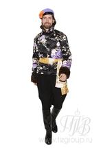 """Русский народный костюм для мужчин """"Тулуп стёганый с кушаком"""""""