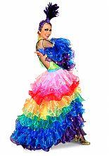 Мексиканский женский костюм для бразильского карнавала