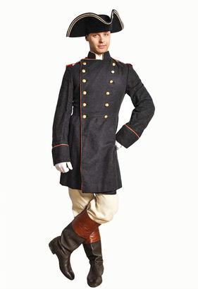Военный костюм 19 века