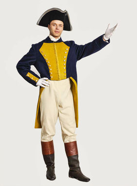 Исторический военный костюм